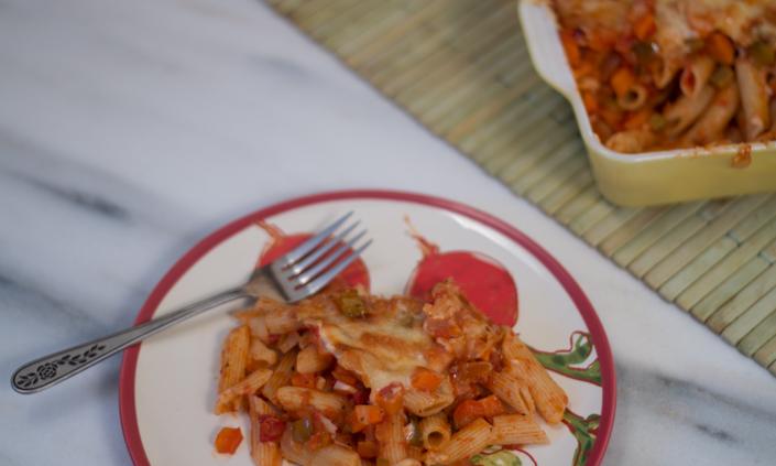 Vegetable Baked Ziti