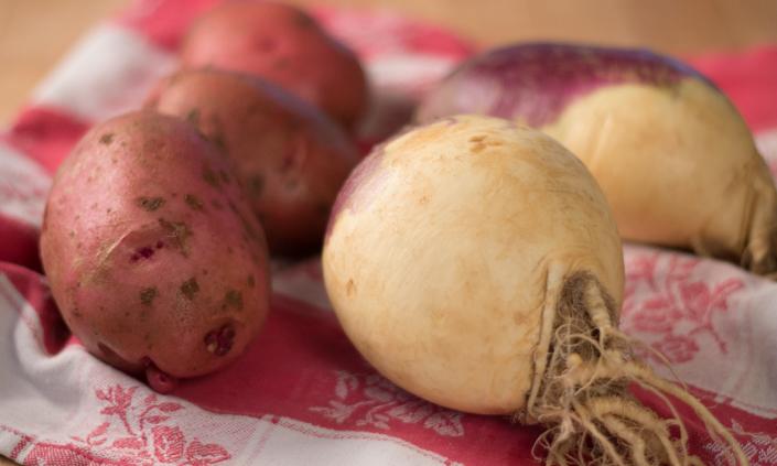 Mashed Potatoes & Rutabaga-1
