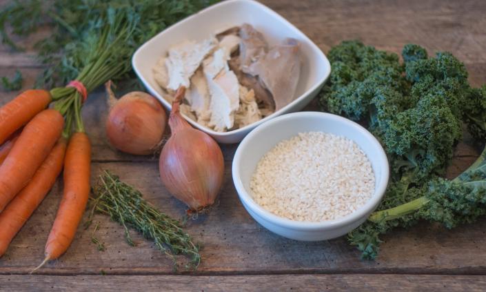 Turkey Arborio Rice Soup