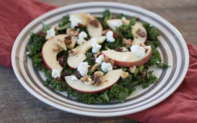Apple, Kale, Celery Salad