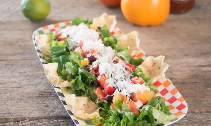 Black Bean Salad with Chipotle Vinaigrette