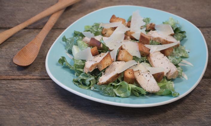 Escarole Caesar Salad