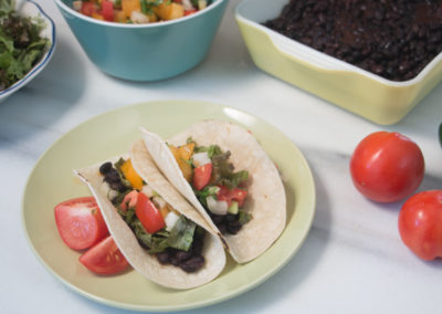 Slow Cooker Black Bean Tacos