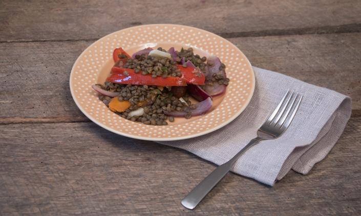 Sweet & Sour Lentils