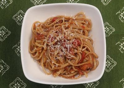 Tomato Bacon Pasta