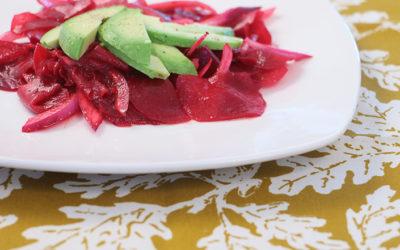 Beet Avocado Salad