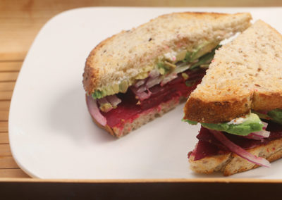 Cured Beet Sandwiches