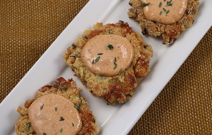 Black Eyed Pea Fritters