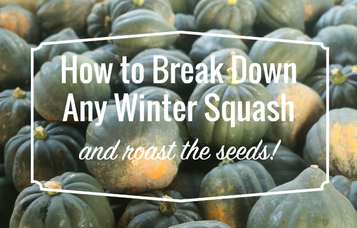Video – How to Break Down Any Winter Squash