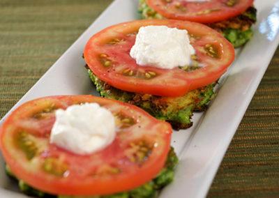 Broccoli Parmesan Cakes