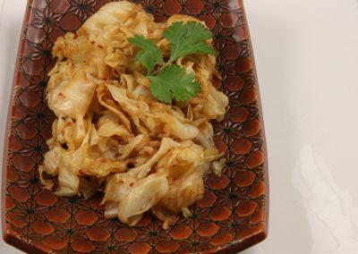 Spicy Braised Cabbage