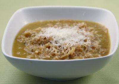 Marcella Hazan's Rice & Cabbage Soup