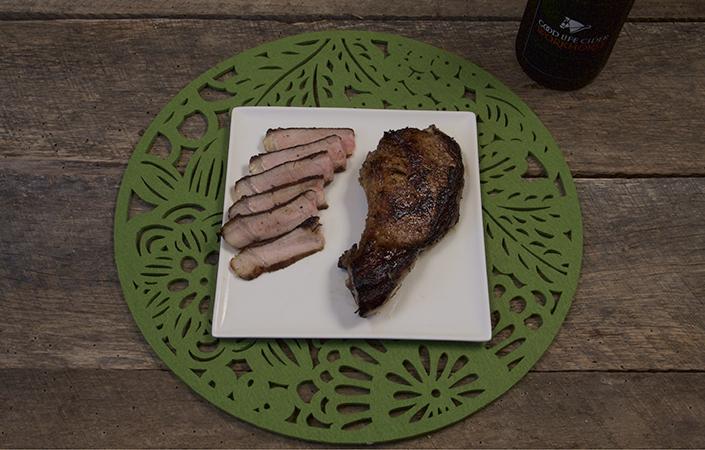 Cider Marinated Pork Chops
