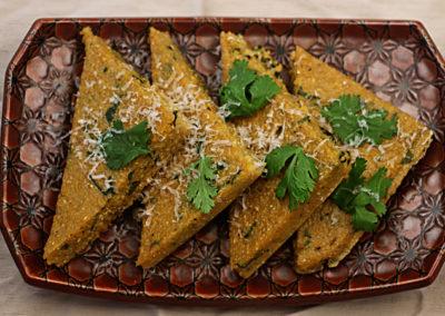 Spicy Polenta with Cilantro