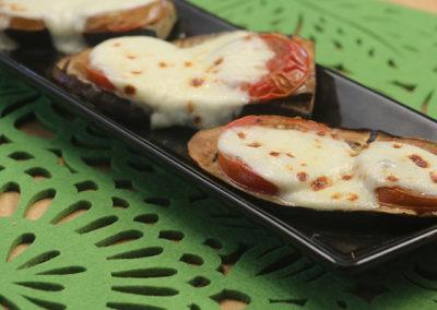 Grilled Eggplant with Mozzarella