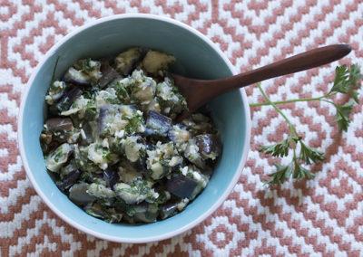 Guest Post – Parsley Garlic Stir-fry by Emma Frisch