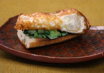 Crispy Egg & Greens on Toast