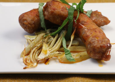 Roasted Sausage and Fennel