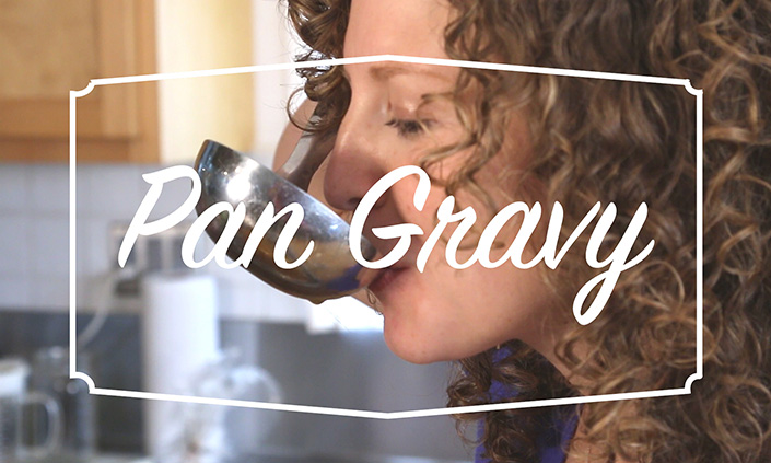 Video – Easy, Gluten Free Pan Gravy