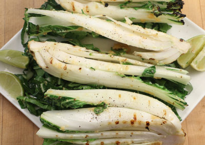 Grilled Bok Choy with Miso