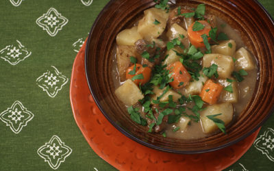 Irish Lamb & Turnip Stew