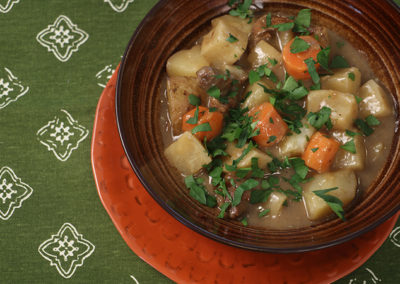 Irish Lamb & Turnip Stew