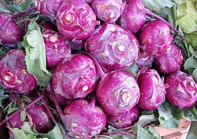 5 Great Ways to Use the Kohlrabi in Your CSA Share!