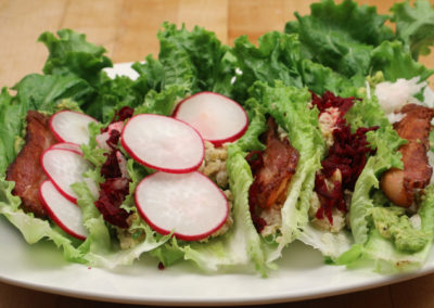 Lettuce Wraps Without a Recipe