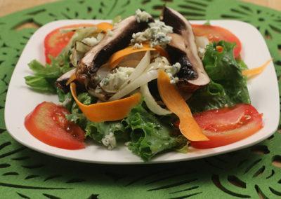 Grilled Portobello Mushroom Salad