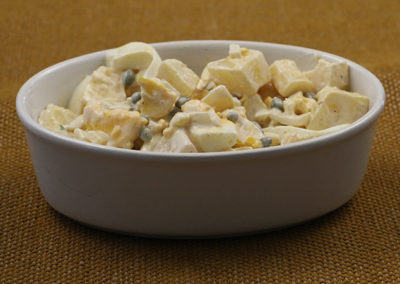 Potato Style Parsnip Salad