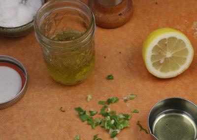 Lemon Scallion Dressing