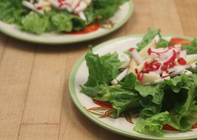 Apple & Pomegranate Fall Salad