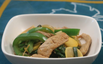 Ginger Pork Stir-fry