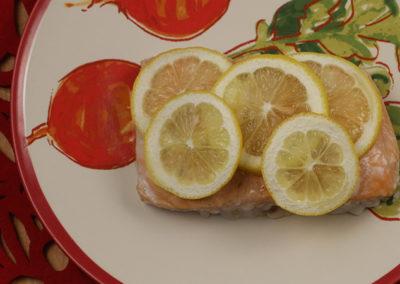 Simple Lemon Salmon