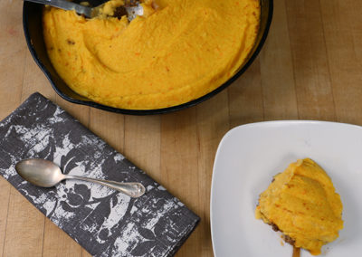 Carrot & Parsnip Shepherd's Pie