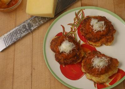 Spaghetti Squash Fritters
