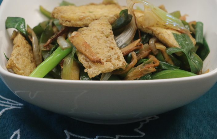 Ginger Tofu Stir-fry