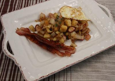 Turnip & Parsnip Breakfast Hash